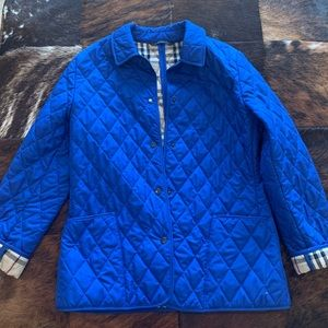Authentic Burberry Classic Quilted Jacket